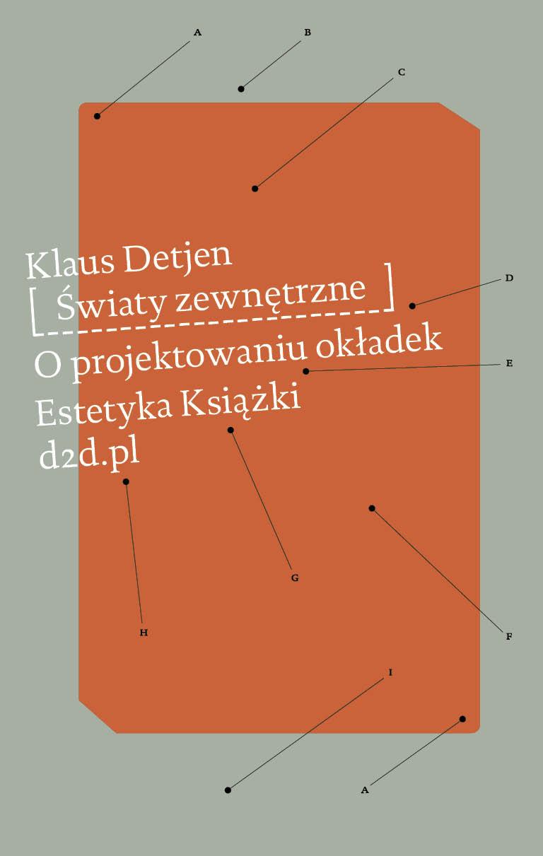 Klaus Detjen, Światy zewnętrzne. O projektowaniu okładek
